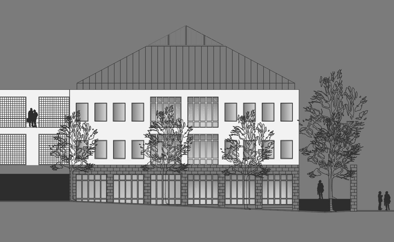 bau+projekt - Planungsbüro Hochbau aktuelles Projekt: Arkadenhöfe Kamenz
